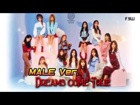 male ver ]dreams come true_우주소녀 wjsn (cosmic girls)