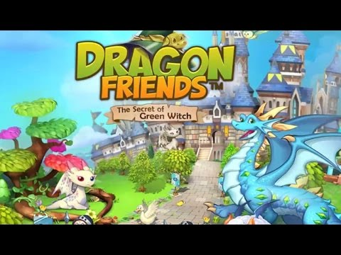 Dragon Friends: Green Witch - Gameplay Walkthrough - First Impression iOS/Android