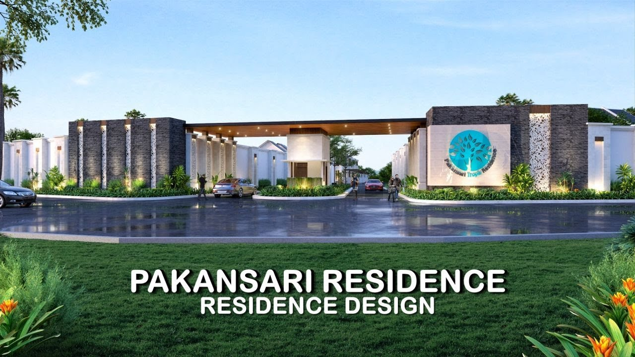 Video 3D Desain Perumahan Villa Bali 2 Lantai Pakansari di Bogor, Jawa Barat