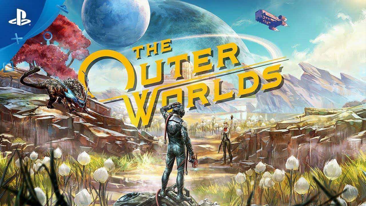 Диск A Games Software The Outer Worlds (Blu-ray, Russian subtitles) для PS4 video preview