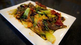 Nosha Pa Recipe| Bhutanese Food| Dried Beef Chili