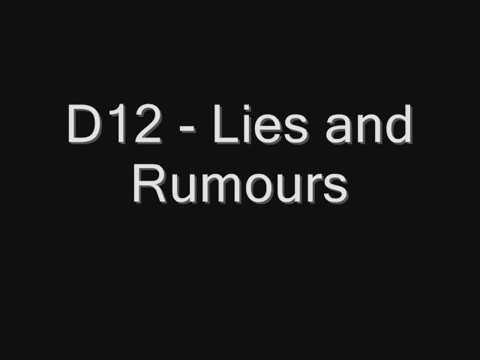 D12 -  Lies and Rumours (Shark Tale version) lyrics