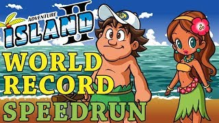[World Record] Adventure Island II - Any% in 24:10