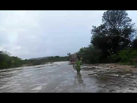 Rio santa rosa muita agua na cidade de barra de santa rosa paraiba
