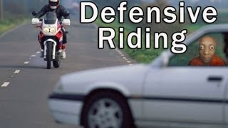 Defensive Motorcycle Riding - Avoid an Accident - Discovered New Road