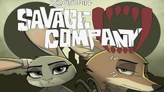 SAVAGE COMPANY #5 PARTE #1 [COMIC DE ZOOTOPIA EM PORTUGUÊS] +16