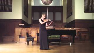 Violinist Ann Miller performs Ysaye Sonata No. 4 on Old First Concerts