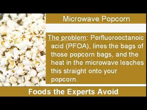 Microwaveable Popcorn