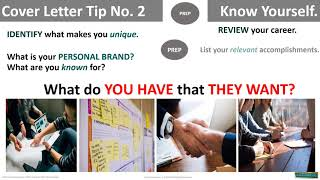 7 Tips to writing a cover letter that gets you in the door!
