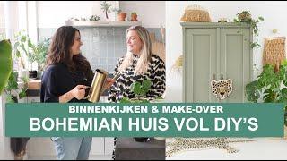 BINNENKIJKEN IN EEN BOHEMIAN INTERIEUR + MAKE-OVER  | BINTI HOME