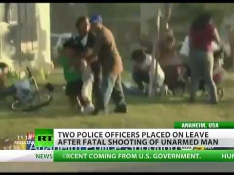 Жестокий беспредел американской полиции