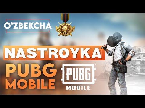 Pubg mobile boshlang'ich nastroykasi (sozlamalri) | SARDOR PLUS | @ASADULLOH OFFICIAL