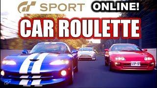 GT SPORT Online - Car Roulette!