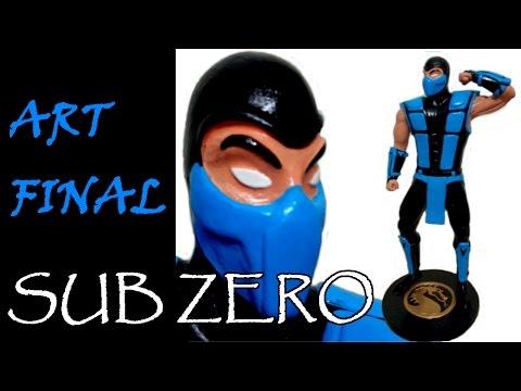Miniatura do Mortal Kombat - SUB ZERO Arte Final