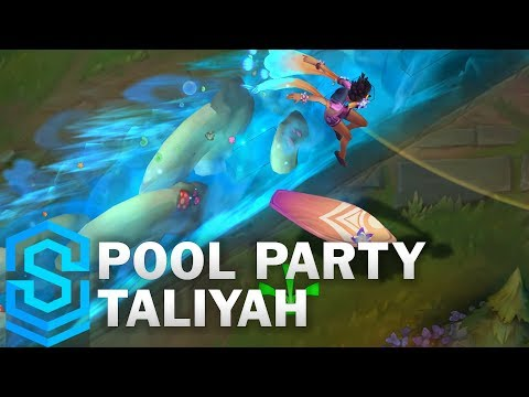 泳池狂歡-塔莉雅造型預覽!服裝好美!