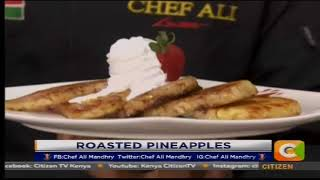 Breakfast Tips: Roasted Pineapples