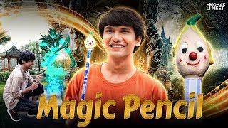 MAGIC PENCIL : जादुई पेंसिल SHORT FILM | SHAKA LAKA BOOM BOOM | #Funny #Bloopers || MOHAK MEET