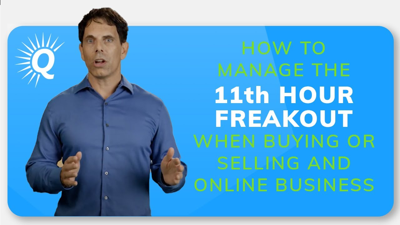 The 11th Hour Freakout (and How to Manage It)