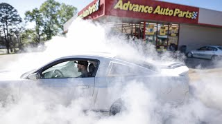 """Advance Auto Parts asked for a """"Small"""" Burnout..."""