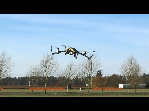 Blade Nano QX BNF Quadcopter Drone with SAFE Technology Outdoor Flight Fun in Cold Wind