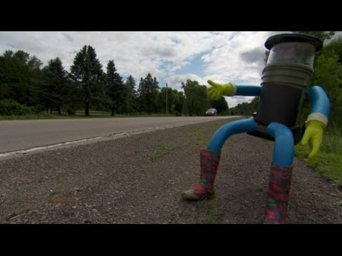 Робот HitchBOT завершил свое путешествие автостопом по Канаде