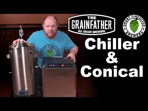 Grainfather Chiller and Conical Fermenter First impressions US Model