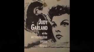 JUDY GARLAND At The Metropolitan Opera House 1959