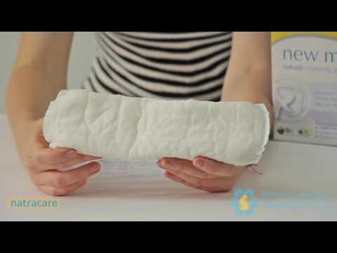 Послеродовые Прокладки Natracare Natural Maternity Pads - обзор