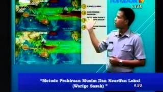 Forecaster Lombok TV  BMKG Stasiun Klimatologi Kediri NTB Episode Februari 2015