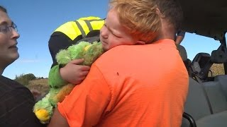 3-Year-Old Boy Found Alive After Being Lost In Cornfield Overnight