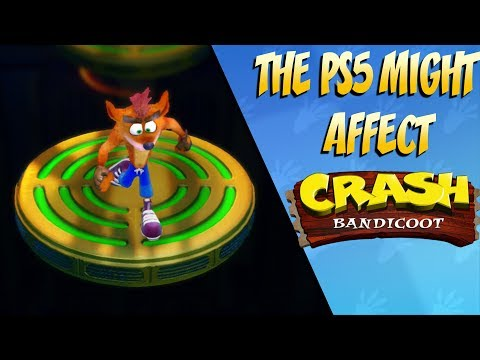 The PS5 MIGHT Affect the New Crash Bandicoot Release