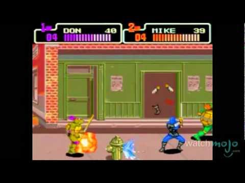 Forgotten Videogames: Teenage Mutant Ninja Turtles The Hyperstone Heist
