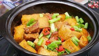 THỊT KHO ĐẬU HỦ - Cách kho Đậu hủ ăn ngon như Thịt Kho - Món ăn dân dã đủ chất by Vanh Khuyen