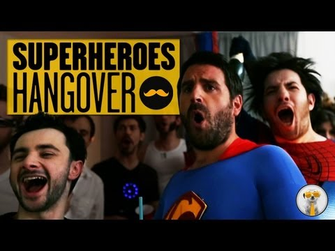 What If Superheroes Hosted A Super-Drunk Party?