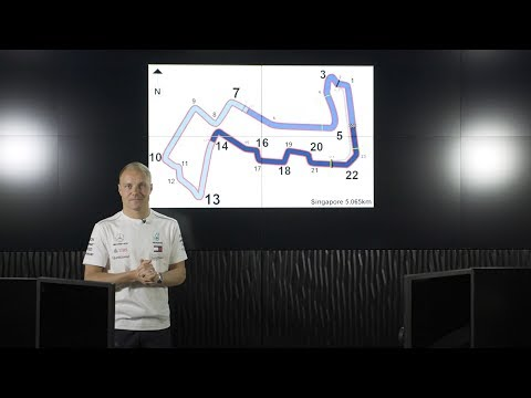 Singapore F1 Circuit Guide with Valtteri Bottas & PETRONAS