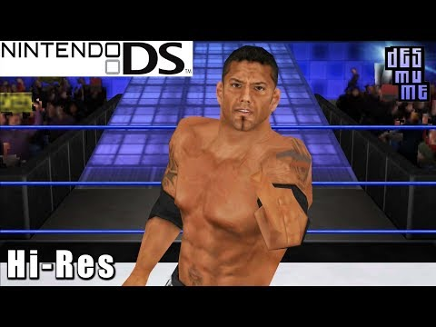 WWE SmackDown vs. Raw 2009 - Nintendo DS Gameplay High Resolution (DeSmuME)