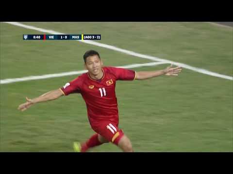 Bàn thắng của Anh Đức đưa Việt Nam lên ngôi vô địch AFF Cup sau 10 năm chờ đợi