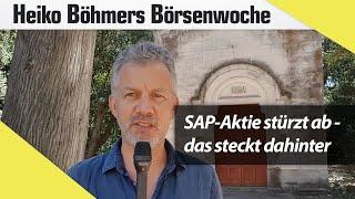 SAP-Aktie stürzt ab – das steckt dahinter