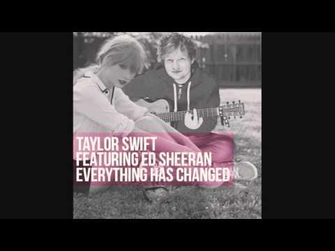 Taylor Swift - Everything Has Changed ft. Ed Sheeran (Instrumental)