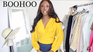 HUGE BOOHOO TRY ON HAUL | Bougie On A Budget Fall Outfit Ideas For School / Work