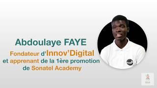 #StartupStories Sonatel Academy avec Abdoulaye Faye