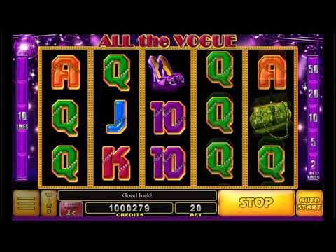 All the Vogue Online Slot by Noble Gaming play free