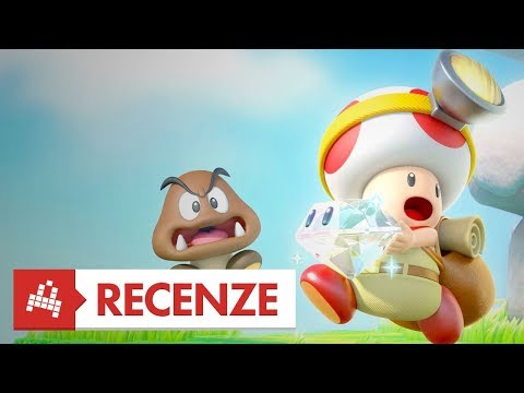 Captain Toad: Treasure Tracker - Recenze