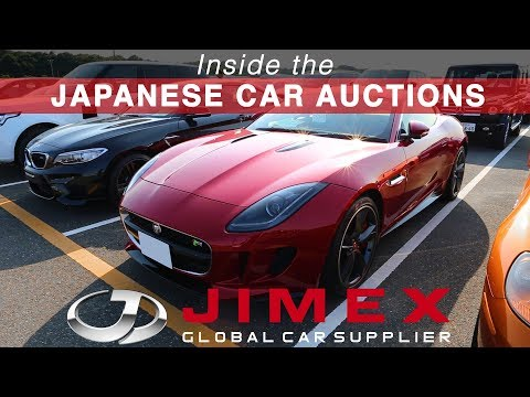 JIMEX - Inside the Japanese Car Auctions
