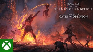 Xbox The Elder Scrolls Online: Flames of Ambition Gameplay Trailer anuncio