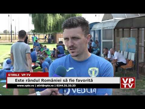 Este rândul României să fie favorită