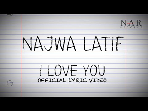 Najwa Latif - I Love You (Official Lyric Video) Mp3