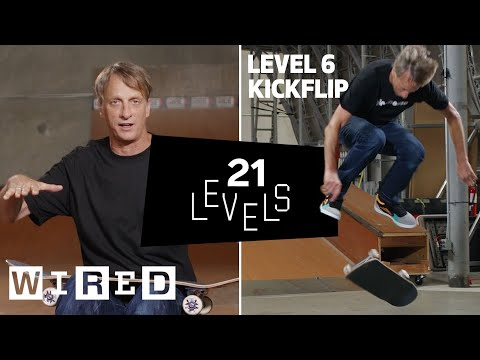 Tony Hawk Takes You Through Skateboarding Tricks From Basic to Advanced