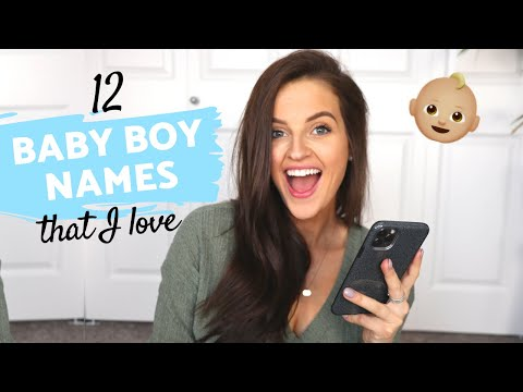 BABY NAMES I LOVE AND WON'T BE USING // 12 Unique Boy Names