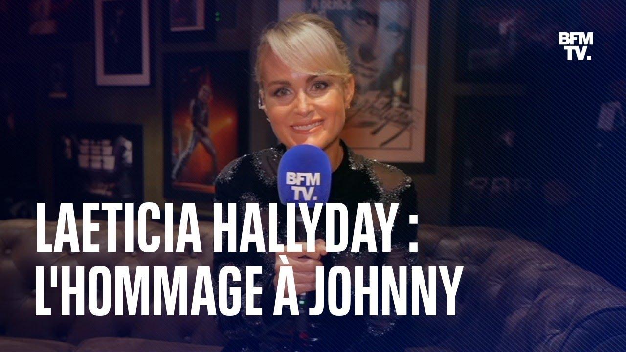 Hommage à Johnny Hallyday: l'interview de Læticia Hallyday en intégralité
